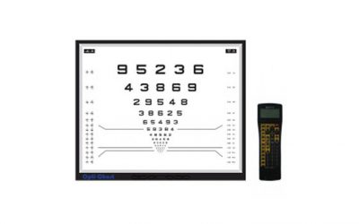 OPTICHART-17″ LED Visual Acuity Panel
