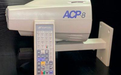 Used Auto Projector Topcon ACP-8 with remote
