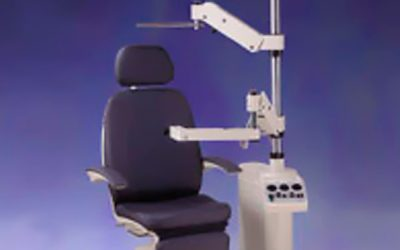 Used Topcon CS-IV combo unit Full Recline Chair and Stand