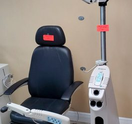 Used Topcon OC2200 Full Recline Chair & IS-2000 Stand w/Remote control !