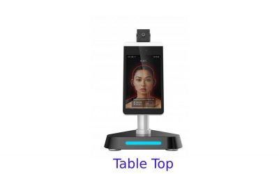 Smart Temperature Measuring Kiosk Wall Mount/Table Top models