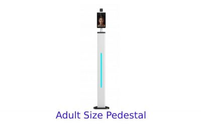 Smart Temperature Measuring Kiosk Pedestal models