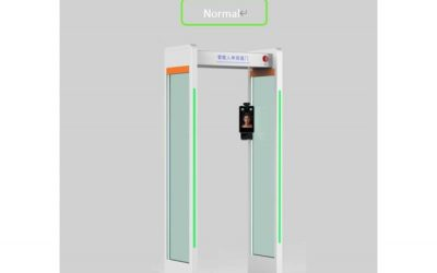 Thermal Imaging Sensor Temperature Measurement Gate